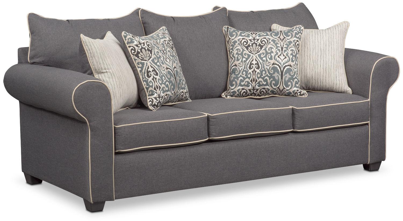 futons living room seating value city furniture and mattresses rh valuecityfurniture com sofa sleeper with air mattress sofa with sleeper and chaise