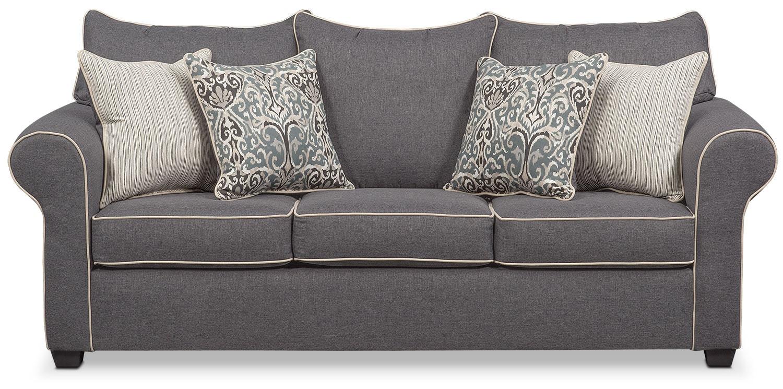 Carla Sofa Gray Value City Furniture