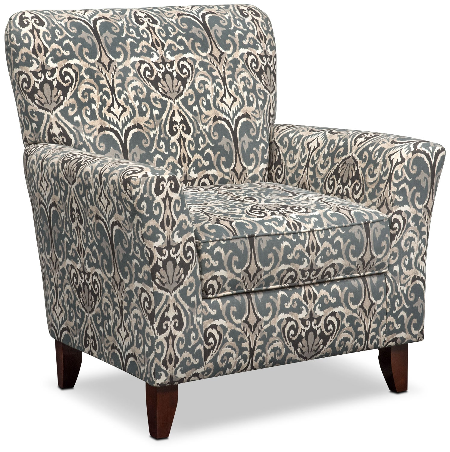 Carla Accent Chair Gray