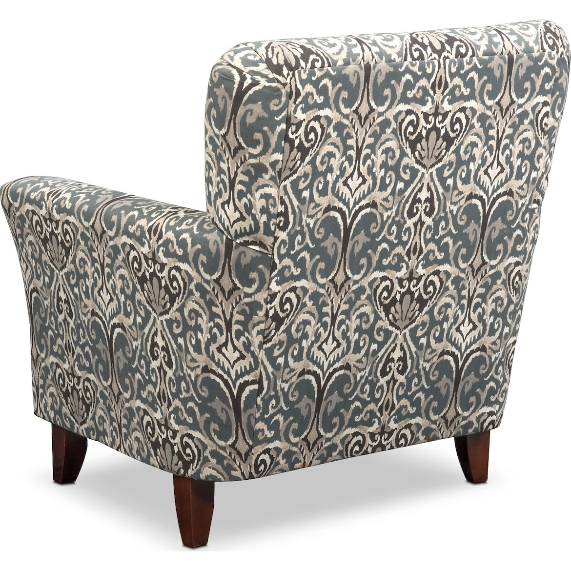 Carla Gray Accent Chair I Value City Furniture: Carla Accent Chair - Gray