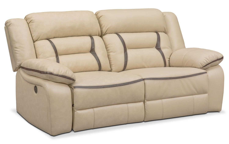 Remi 2-Piece Power Reclining Sofa - Cream