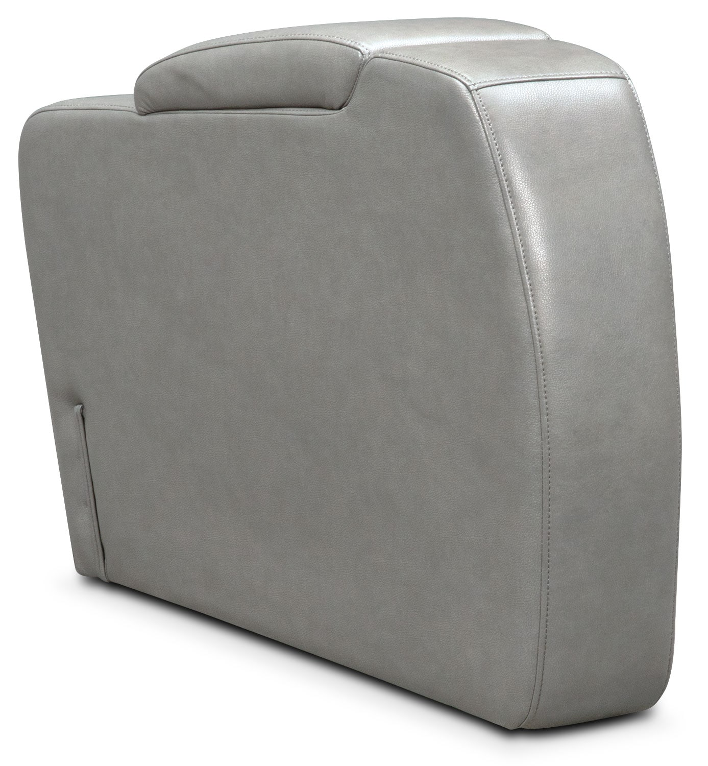 Living Room Furniture - Bravo Storage Console - Gray
