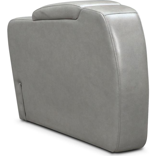 Living Room Furniture - Bravo Storage Console - Gray
