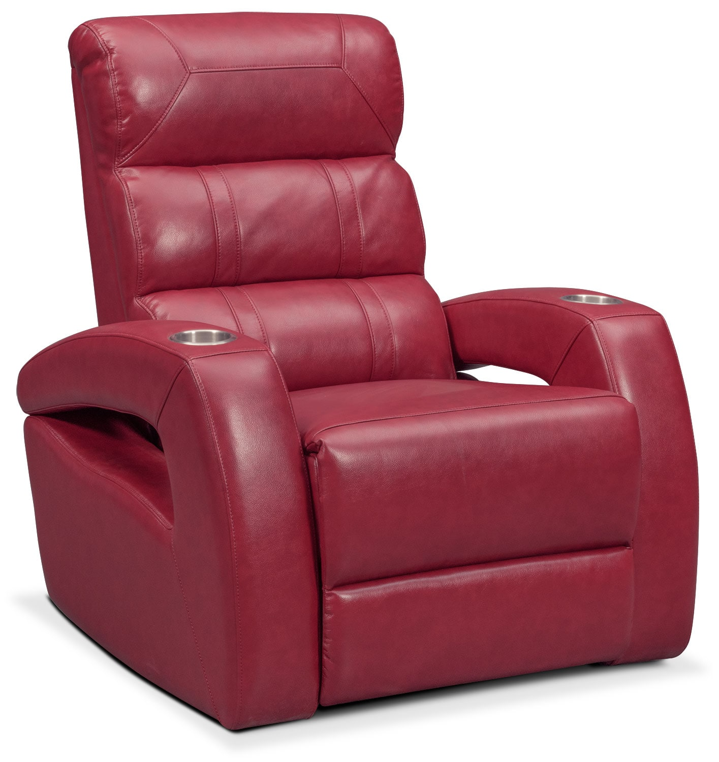 Bravo Power Recliner - Red by One80  sc 1 st  Value City Furniture & Bravo Power Recliner - Red | Value City Furniture islam-shia.org