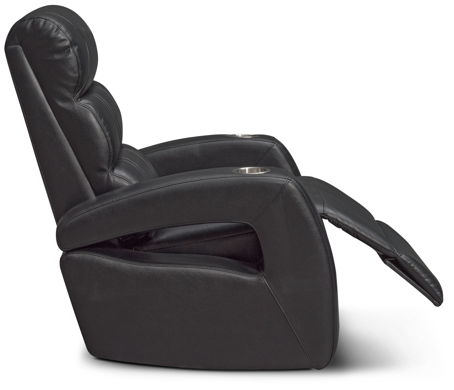 Bravo Power Recliner   Black By One80