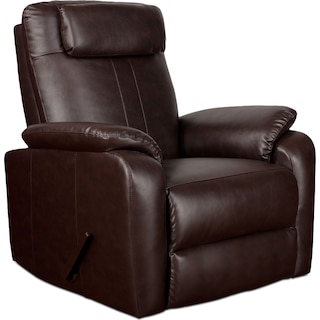 Sparta Rocker Recliner - Brown