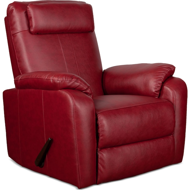 Living Room Furniture Sparta Rocker Recliner