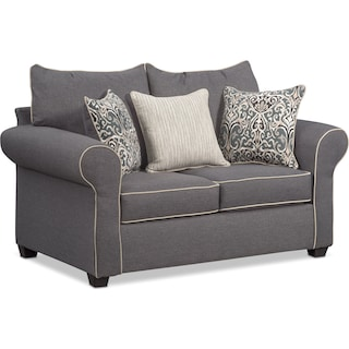 Carla Loveseat - Gray