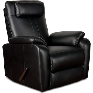 Sparta Rocker Recliner - Black