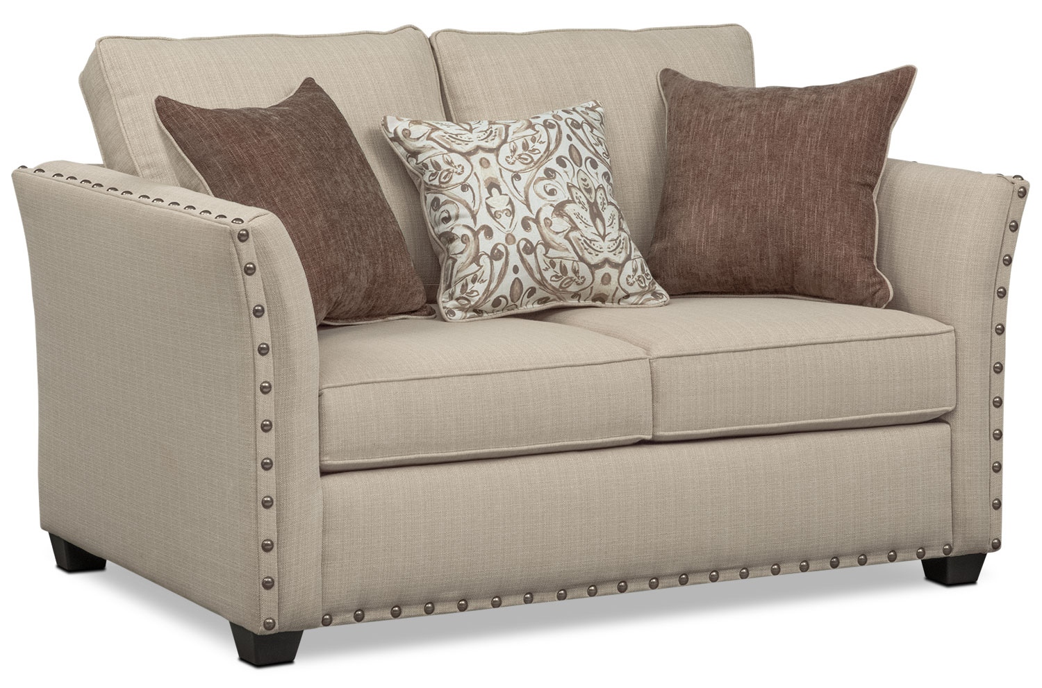 Mckenna Queen Memory Foam Sleeper Sofa Loveseat And Accent Chair  ~ Sleeper Sofa Memory Foam