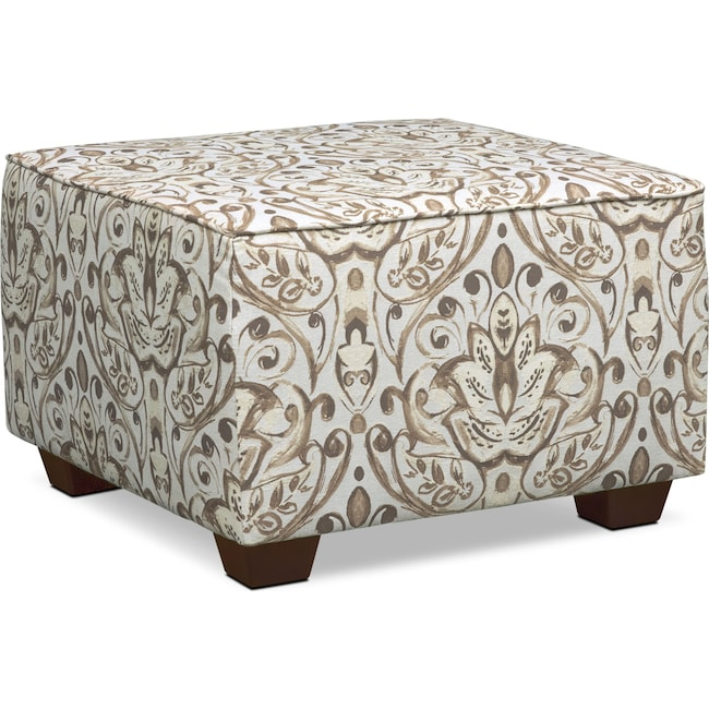 Accent and Occasional Furniture - Mckenna Accent Ottoman - Sand
