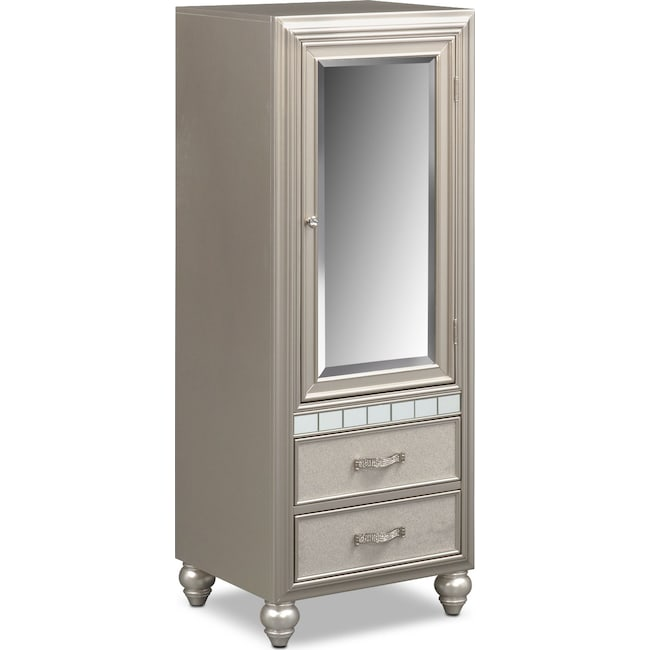Kids Furniture - Serena Wardrobe - Platinum