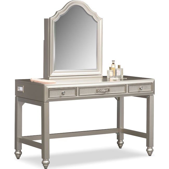 Bedroom Furniture - Serena Vanity and Mirror