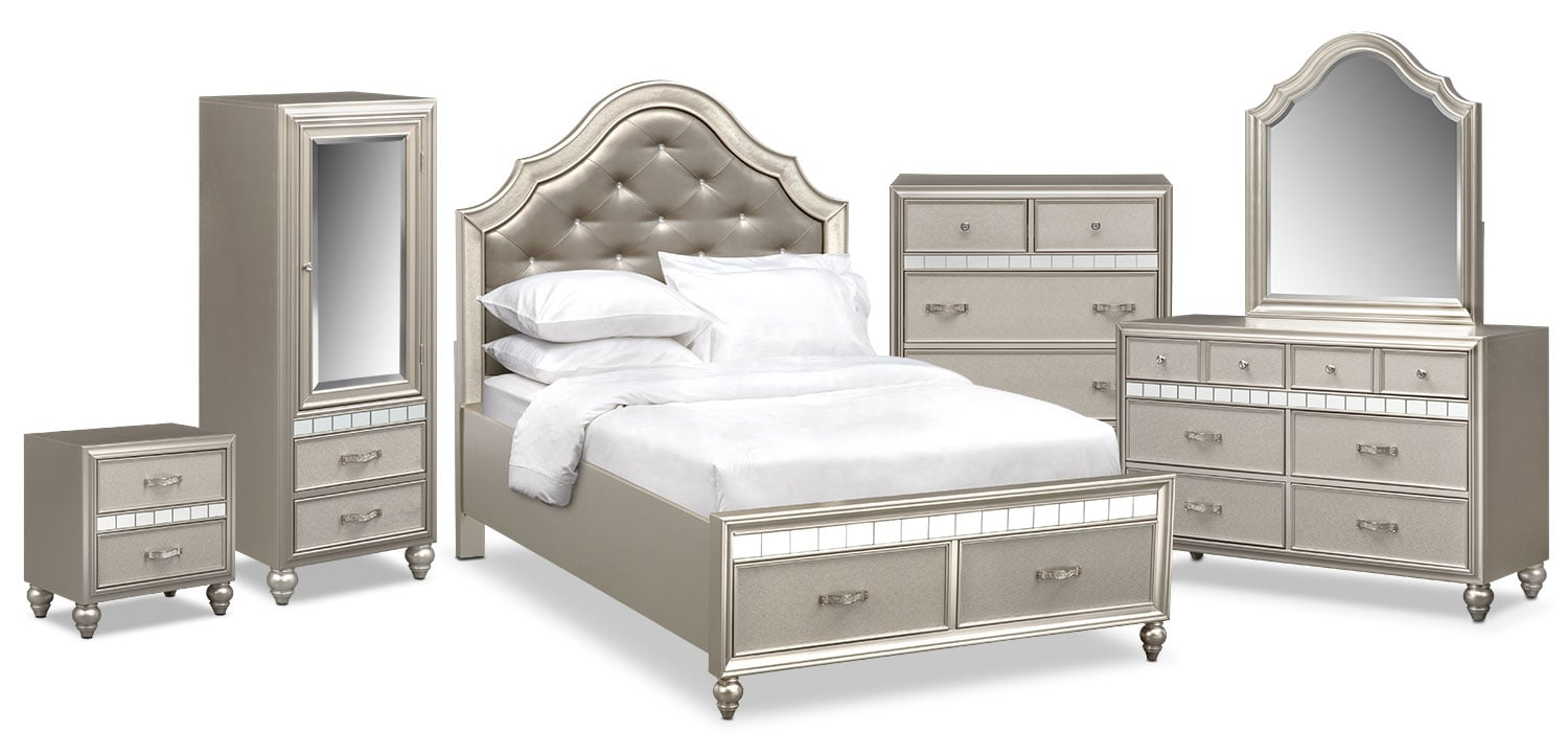 The serena youth collection platinum value city - Value city furniture bedroom sets ...
