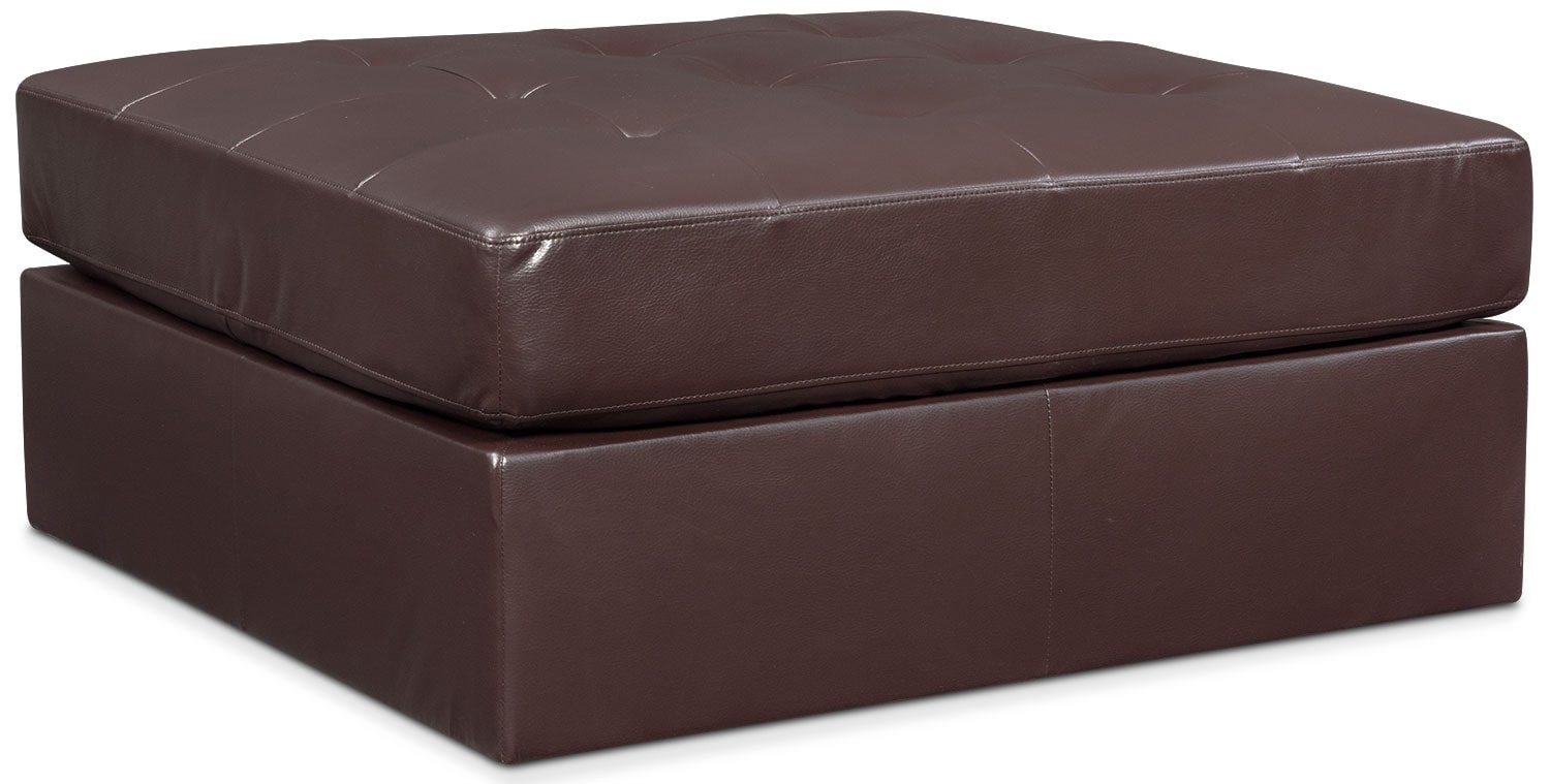 Living Room Furniture - Cayenne Ottoman - Godiva