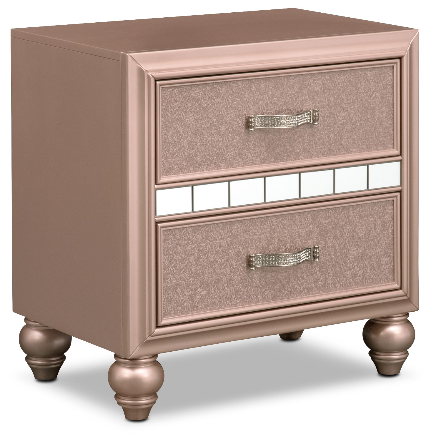 Serena Youth Nightstand - Rose Quartz