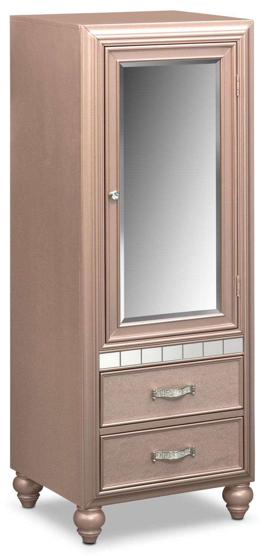 Bedroom Furniture - Serena Wardrobe - Rose Quartz