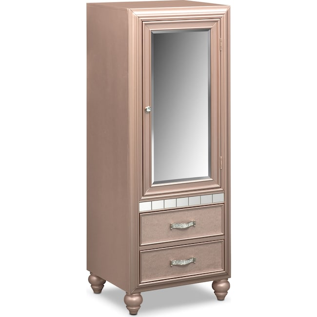 Bedroom Furniture - Serena Wardrobe - Rose Quartz
