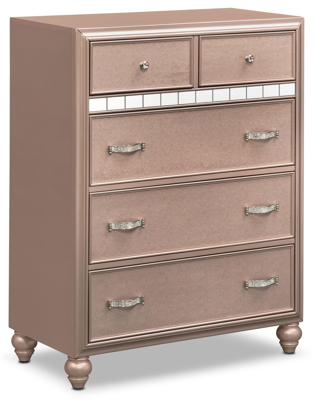 Bedroom Furniture - Serena Chest - Rose Quartz