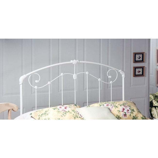 Bedroom Furniture - Maddie Full/Queen Headboard - White