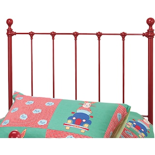 Molly Twin Headboard - Red