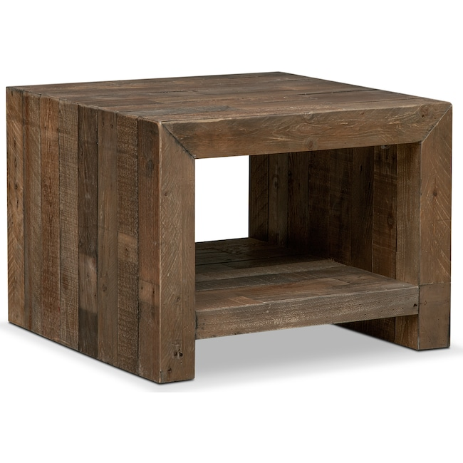 Accent and Occasional Furniture - Rancho End Table - Pine