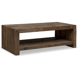 Rancho Cocktail Table - Pine