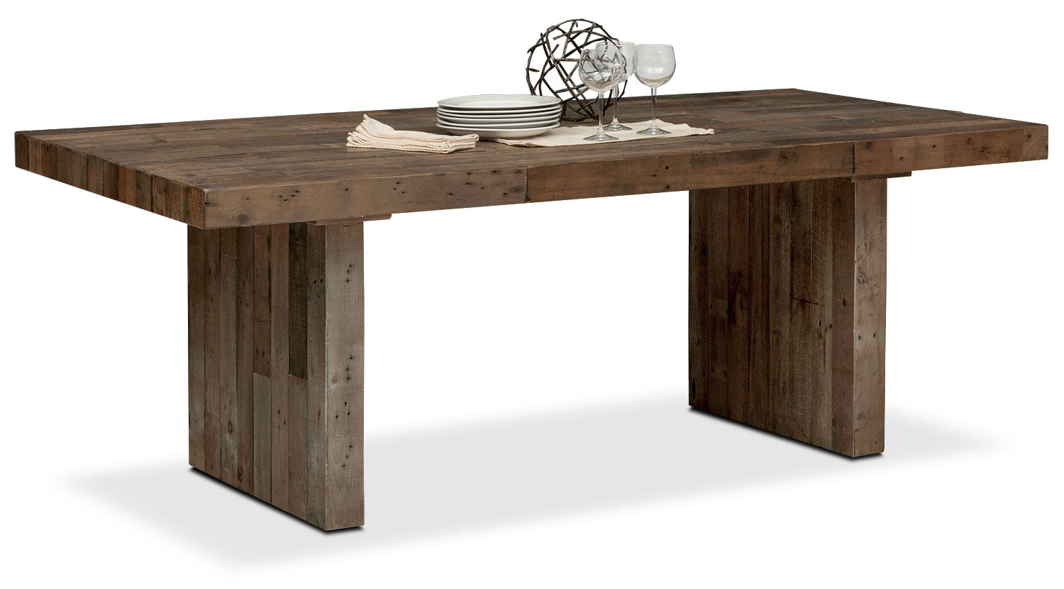 Rancho Dining Table - Pine | Value City Furniture