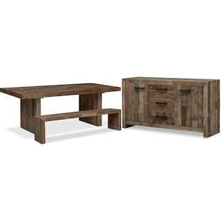The Rancho Dining Collection - Pine