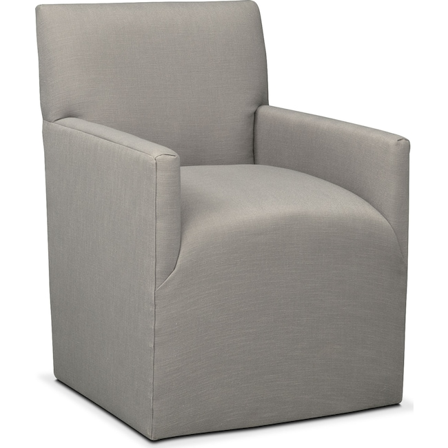 Dining Room Furniture - Laurie Arm Chair - Gray