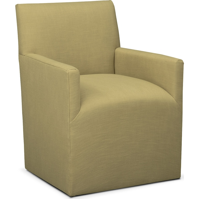 Dining Room Furniture - Laurie Arm Chair - Green