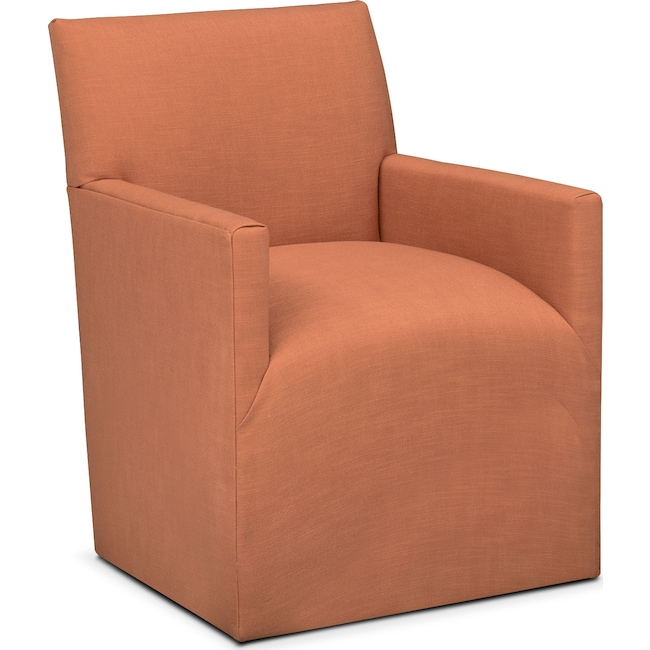 Dining Room Furniture - Laurie Arm Chair - Orange