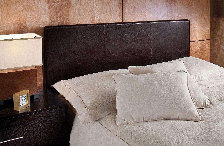 Bedroom Furniture - Spring Full/Queen Headboard - Brown