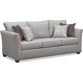 Mckenna Queen Innerspring Sleeper Sofa - Pewter