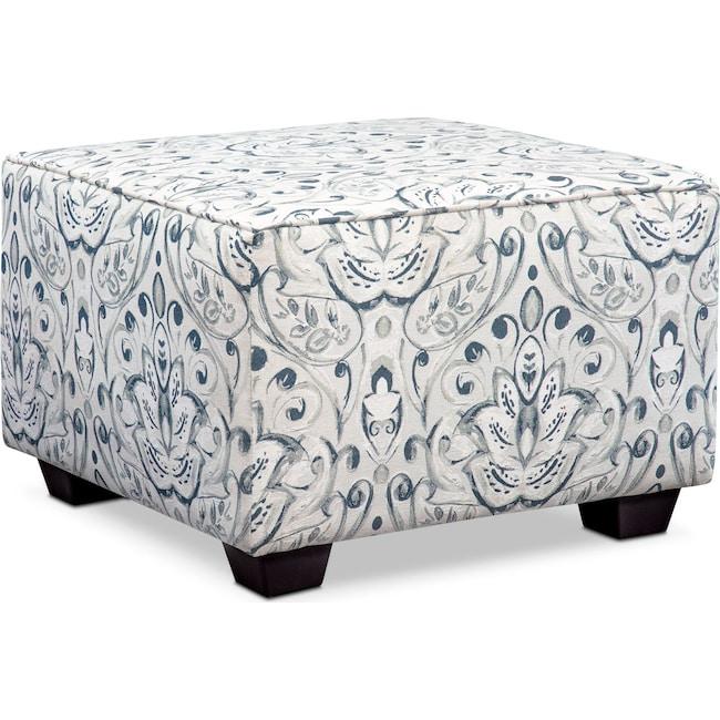Living Room Furniture - Mckenna Square Ottoman
