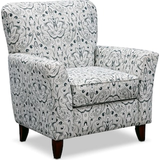 Mckenna Accent Chair - Multi Pewter