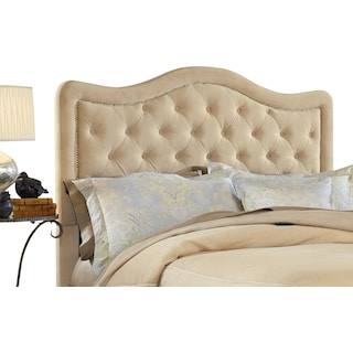 Tris Queen Upholstered Headboard