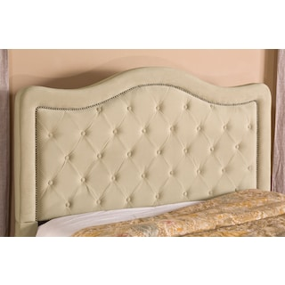 Tris Queen Headboard - Beige
