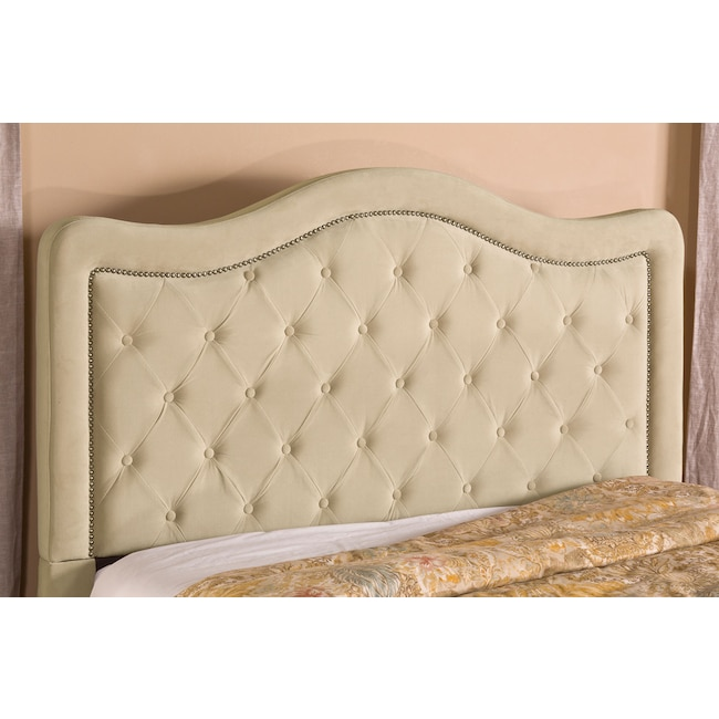 Bedroom Furniture - Tris Queen Headboard - Beige