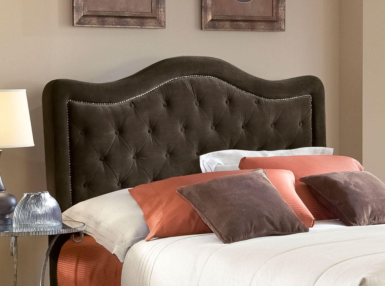 Bedroom Furniture - Tris Queen Headboard - Chocolate