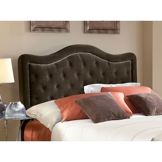 Tris Queen Headboard - Chocolate