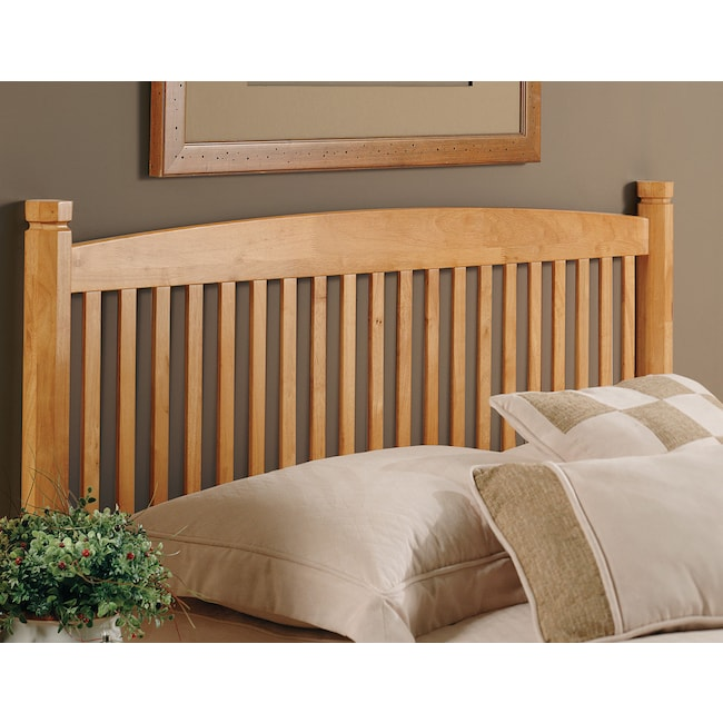Bedroom Furniture - Tree Twin Headboard - Oak