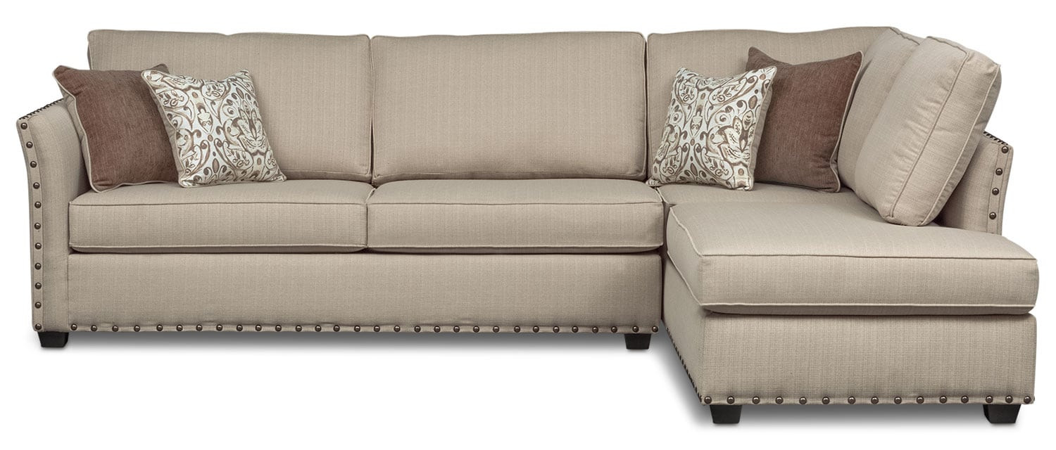 Mckenna 2 Piece Sectional Sand