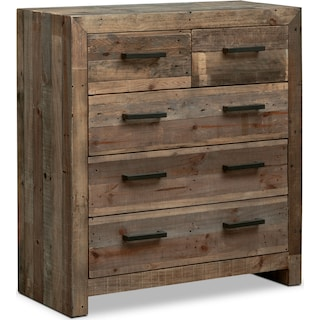 Rancho 5-Drawer Chest - Pine