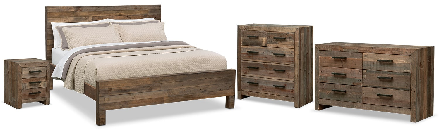 The Rancho Bedroom Collection - Pine
