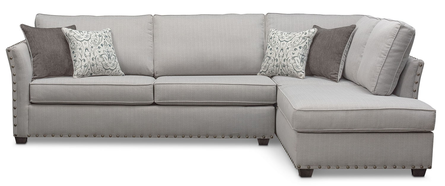 Mckenna 2-Piece Innerspring Sleeper Sectional