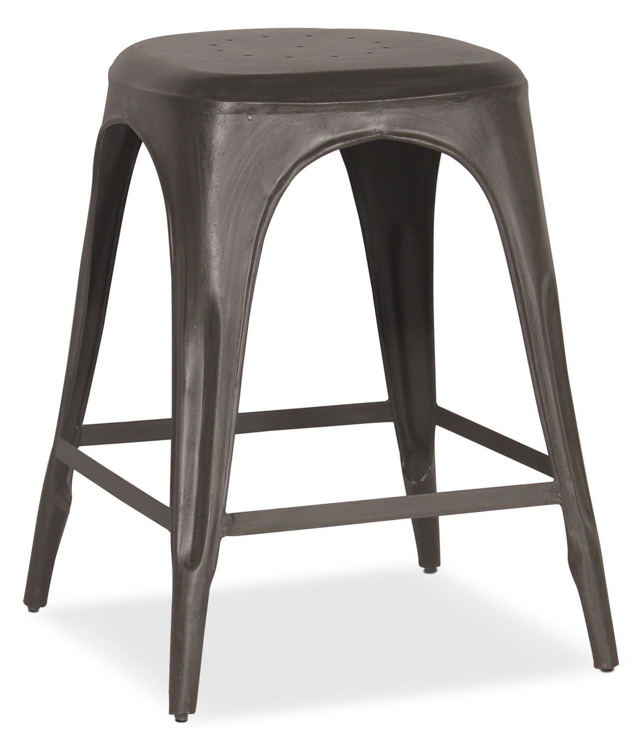 Dining Room Furniture - Holden Backless Counter-Height Stool - Black