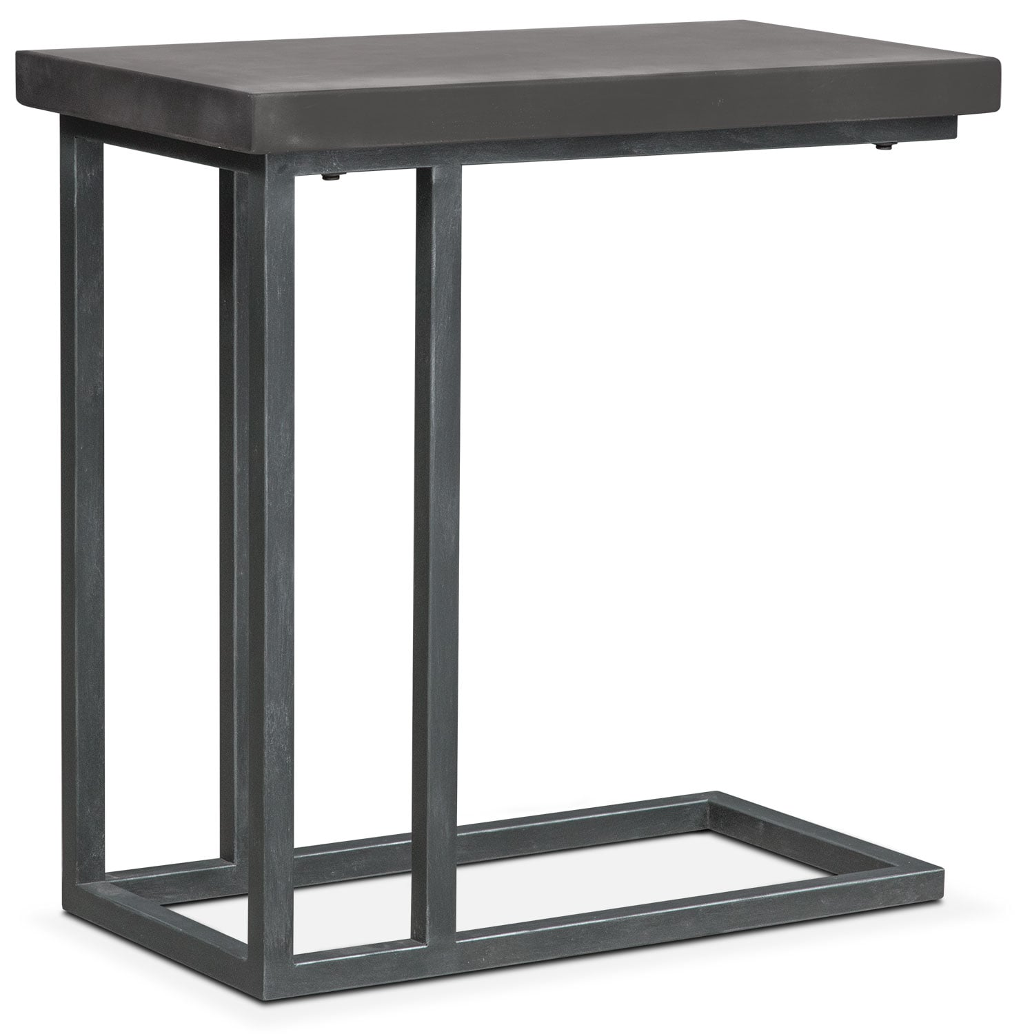 Conde Side Table Concrete Value City Furniture : 489796 from www.valuecityfurniture.com size 1481 x 1500 jpeg 141kB