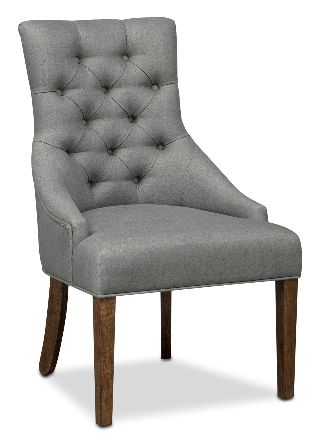 grey wood dining chairs. Dining Room Furniture - Melissa Side Chair Gray. Hover To Zoom Grey Wood Chairs P