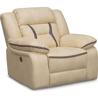 Remi Power Glider Recliner - Cream